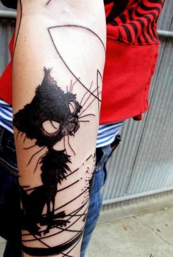 cat tattoo designs (54)