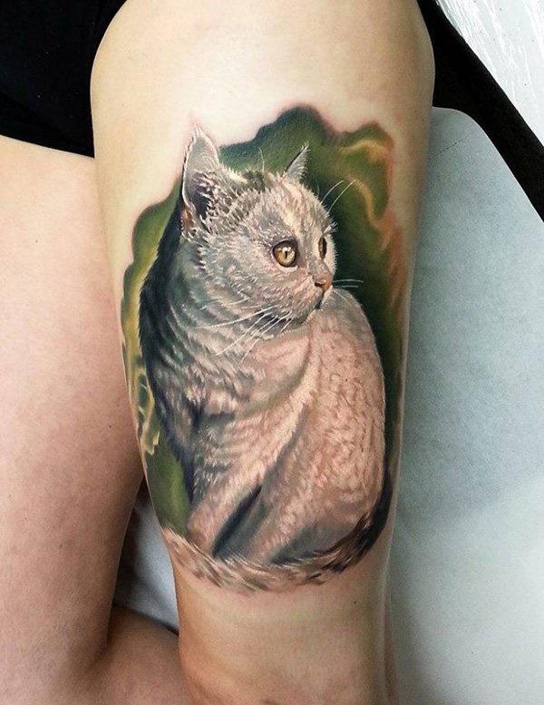 cat tattoo designs (61)