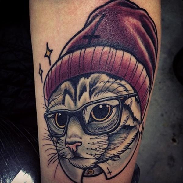 cat tattoo designs (63)