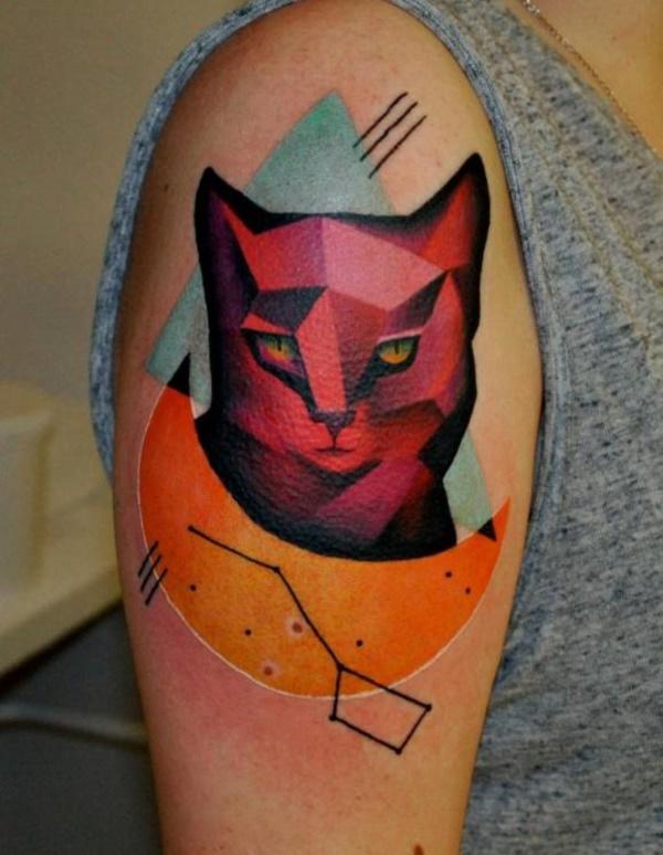 cat tattoo designs (65)
