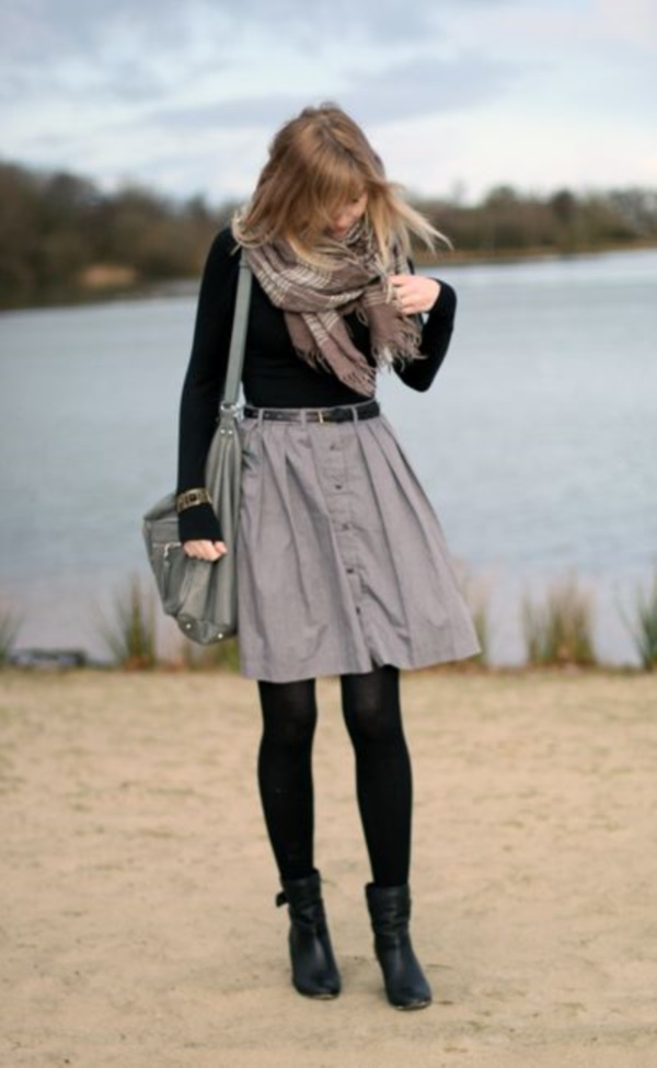 grey skirt outfit (12)