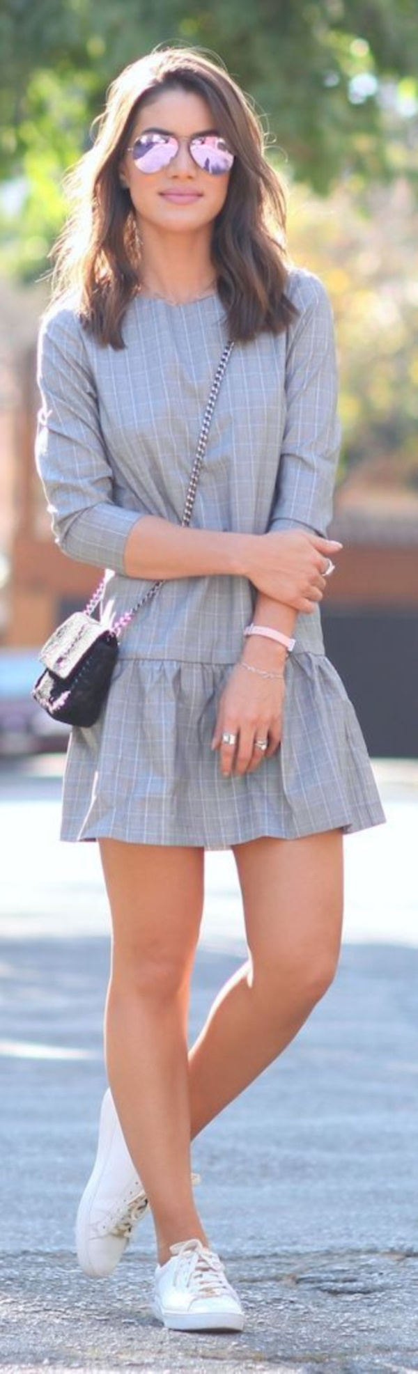 grey skirt outfit (50)