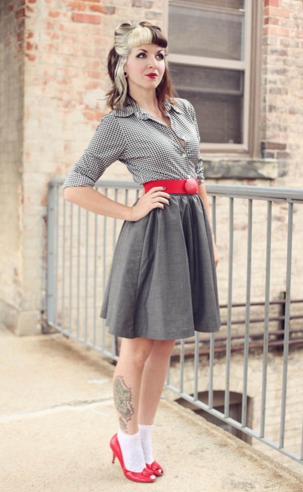 grey skirt outfit (54)