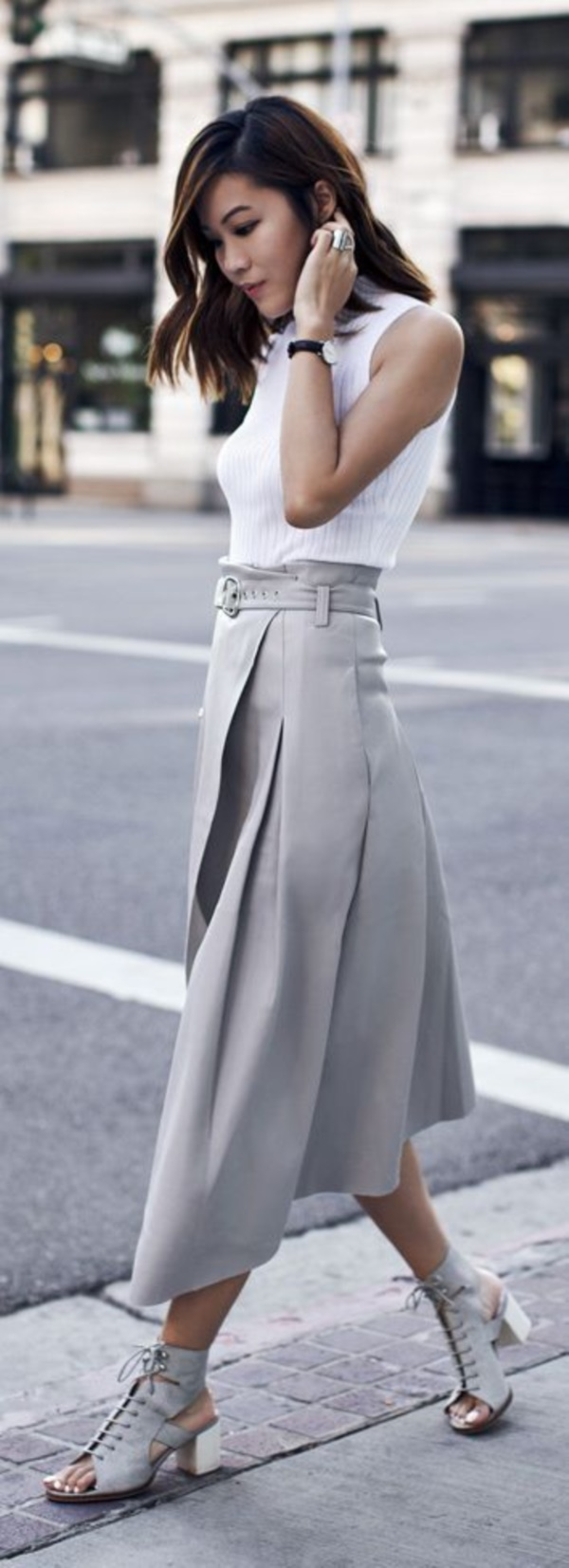 grey skirt outfit (68)