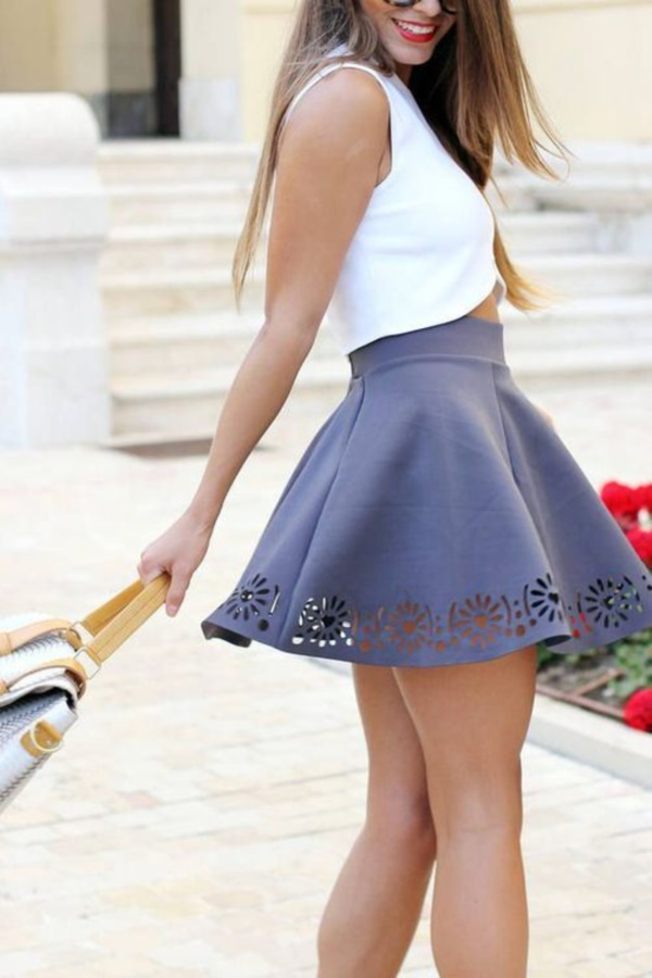 grey skirt outfit (85)