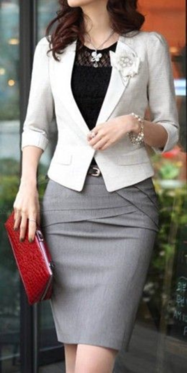 grey skirt outfit (91)
