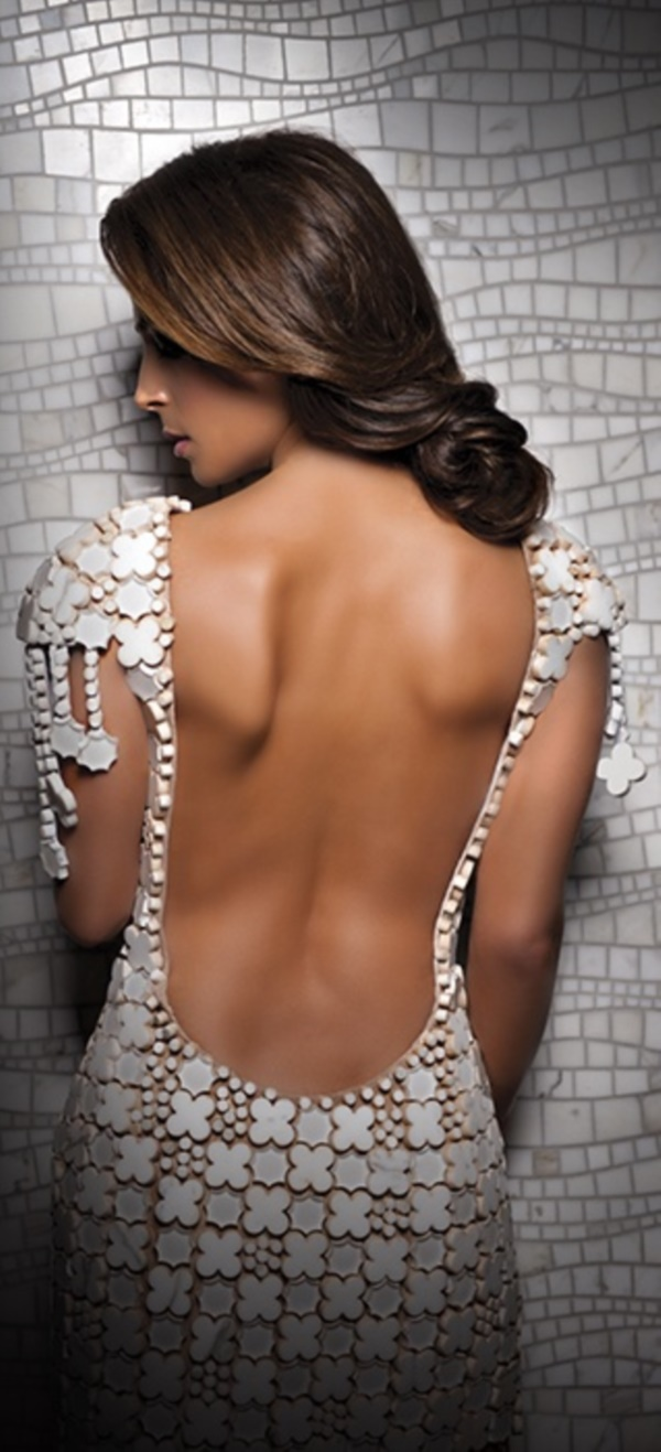 sexy backless dresses0431