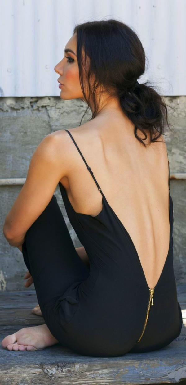 sexy backless dresses0781