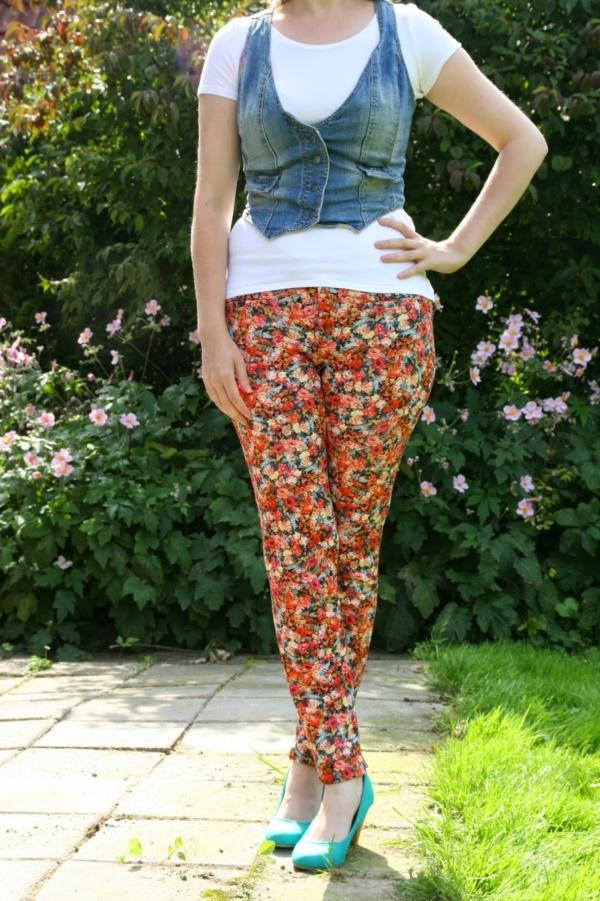 black floral pants outfits (13)