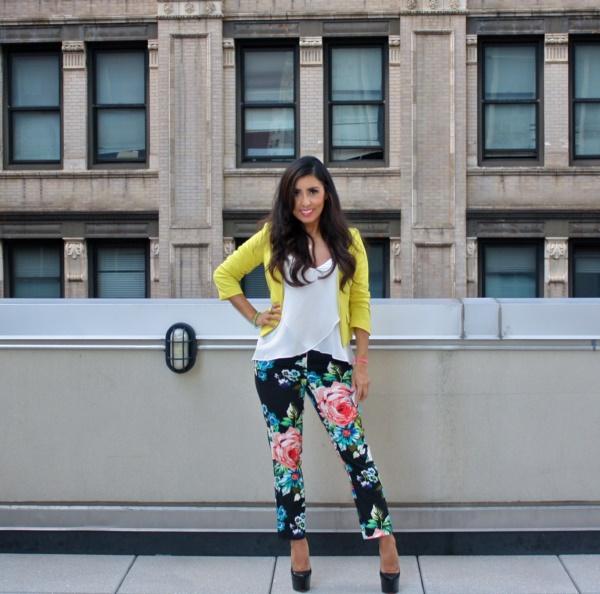 black floral pants outfits (14)