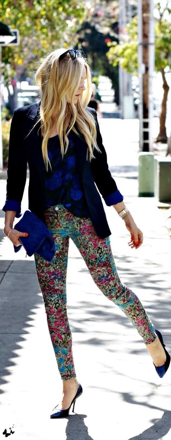 black floral pants outfits (25)