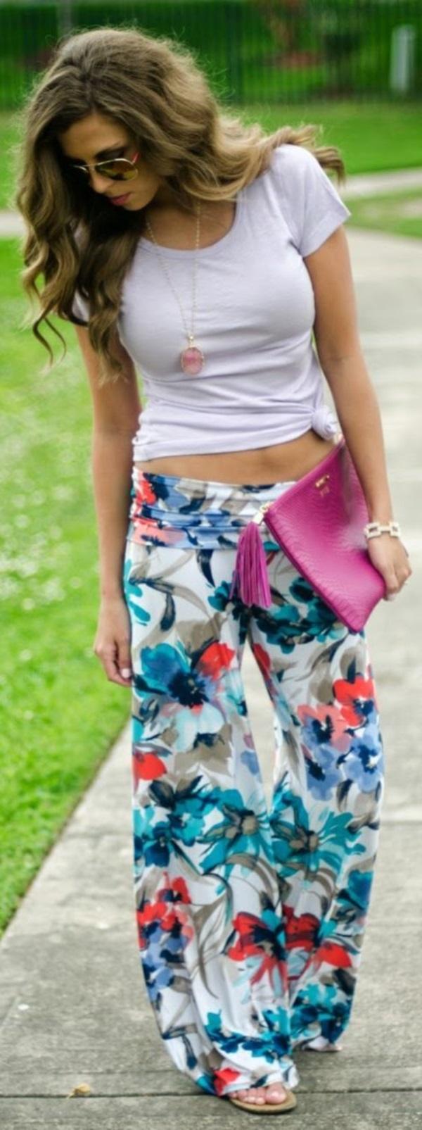 black floral pants outfits (26)
