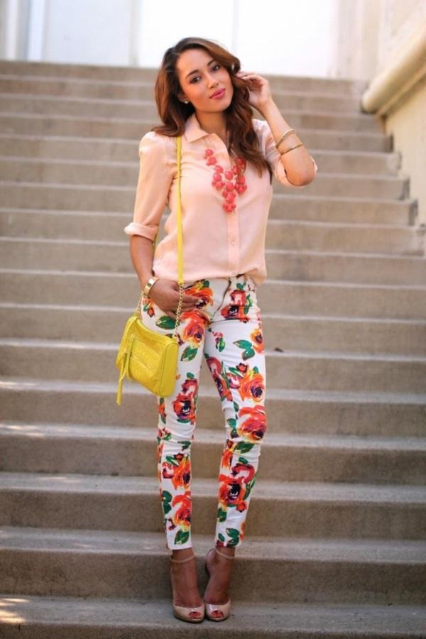 black floral pants outfits (35)