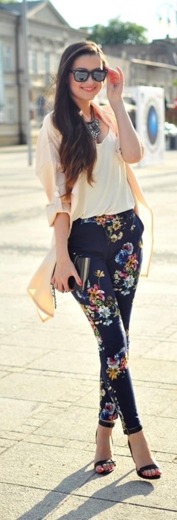 black floral pants outfits (36)