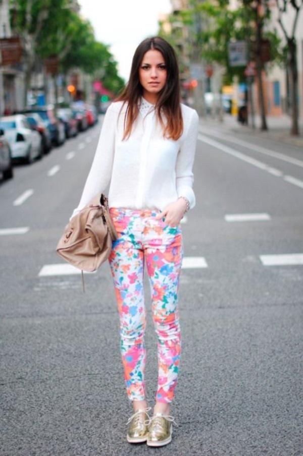 black floral pants outfits (37)