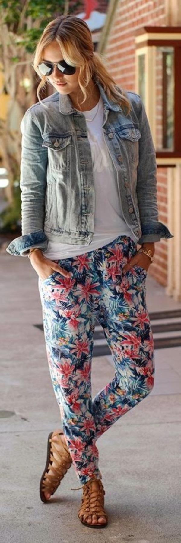 black floral pants outfits (39)