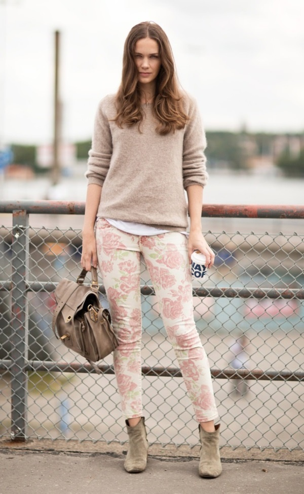 black floral pants outfits (42)