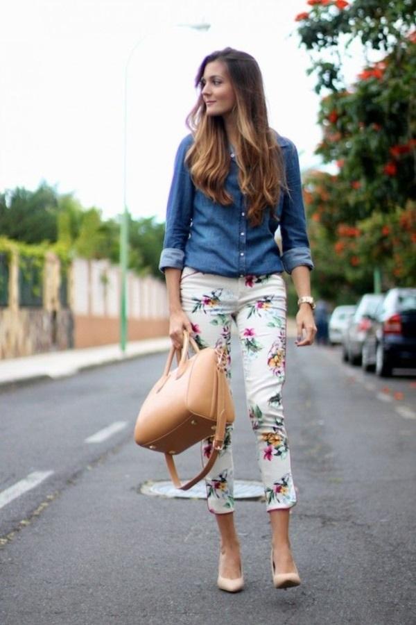 black floral pants outfits (49)