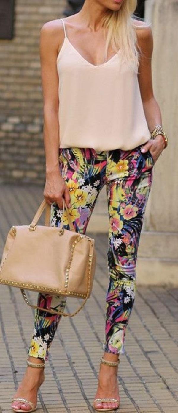 black floral pants outfits (52)