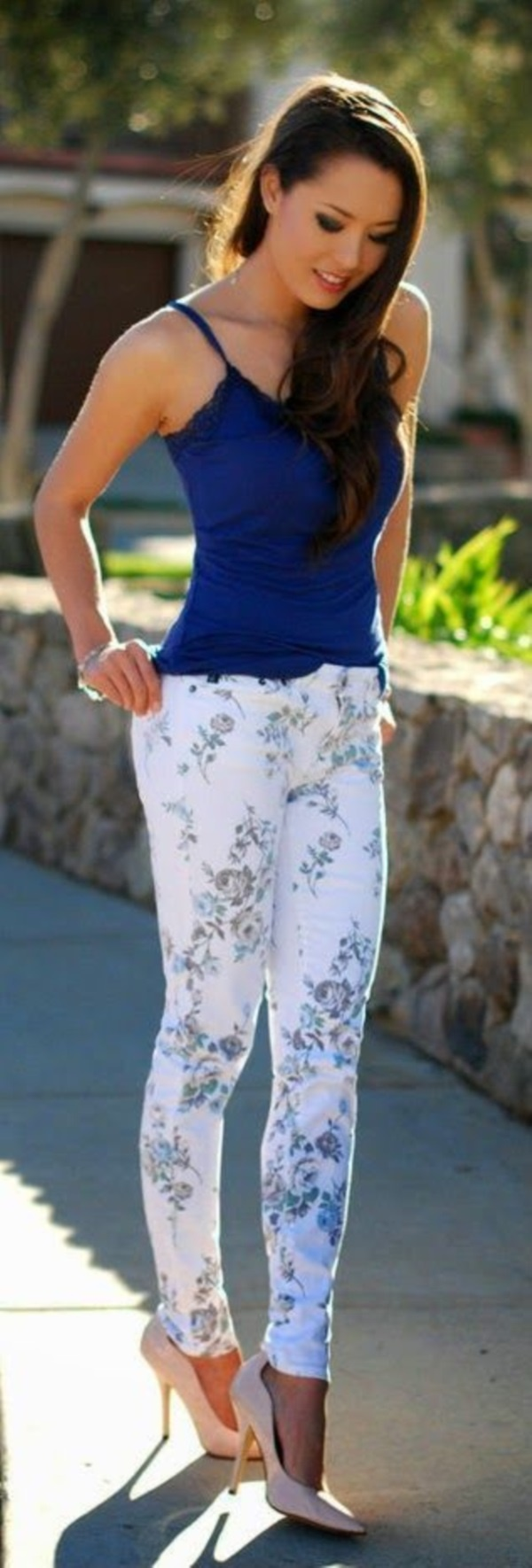 black floral pants outfits (54)