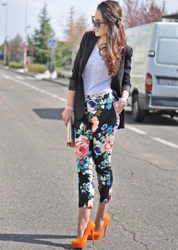 black floral pants outfits (62)
