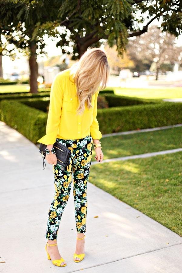 black floral pants outfits (64)