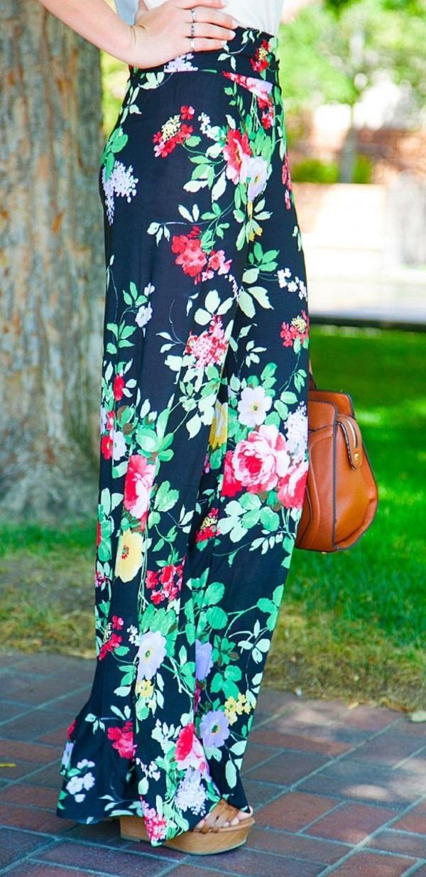 black floral pants outfits (65)
