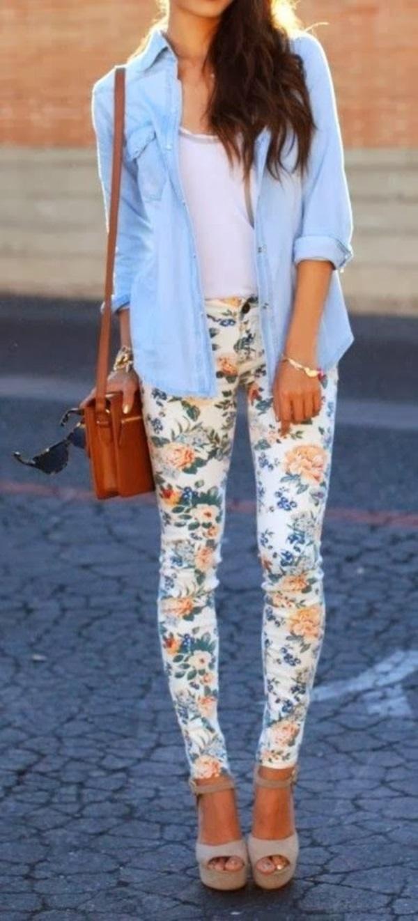 black floral pants outfits (66)