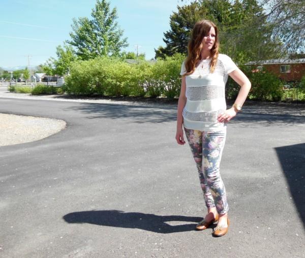 black floral pants outfits (7)
