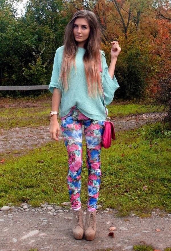 black floral pants outfits (72)