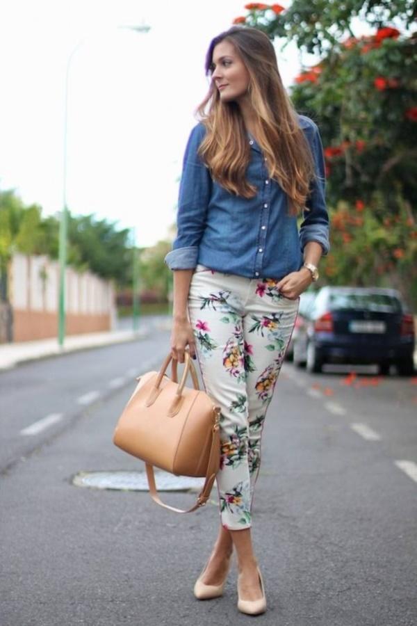 black floral pants outfits (80)