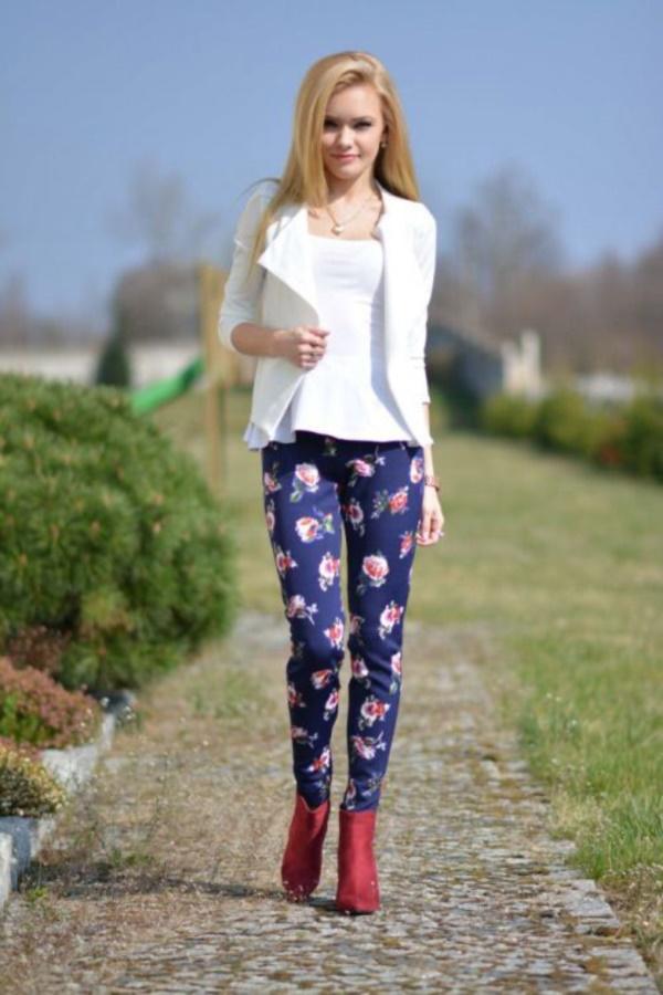 black floral pants outfits (81)