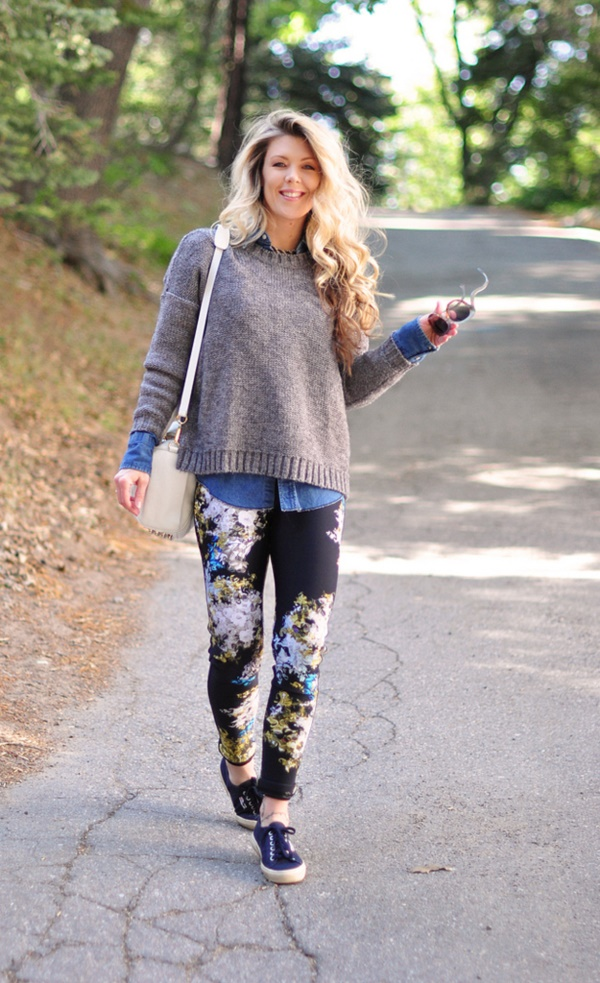 black floral pants outfits (83)