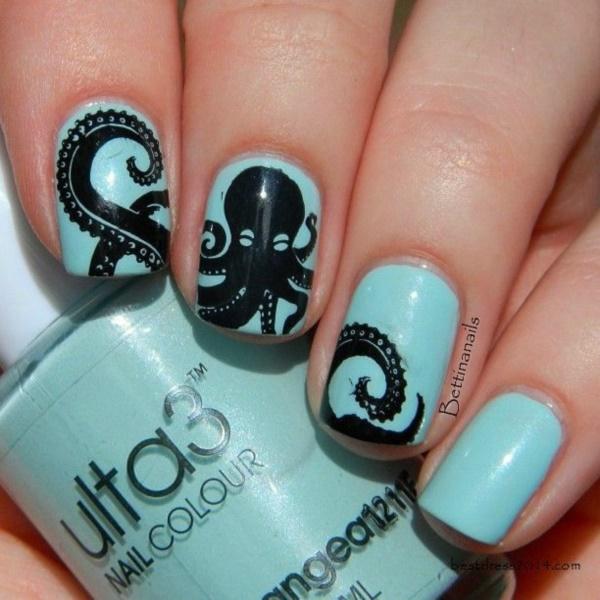 black nail arts (11)