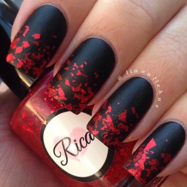 black nail arts (2)