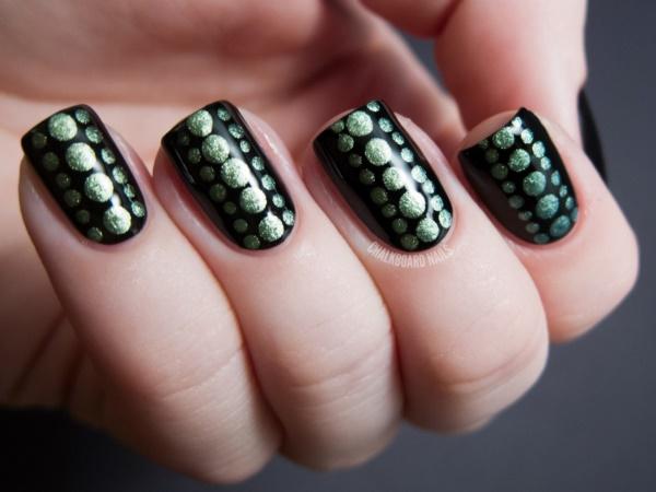 black nail arts (21)