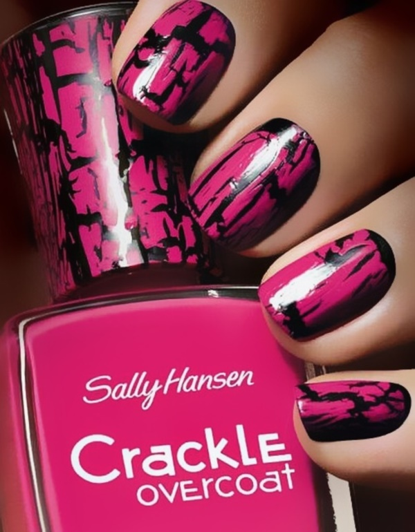 black nail arts (31)