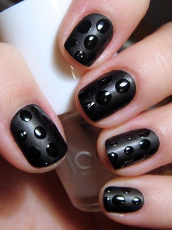black nail arts (39)