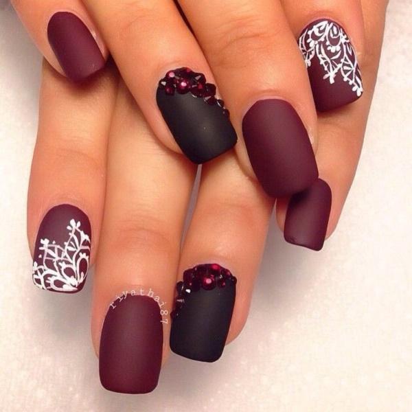 black nail arts (4)