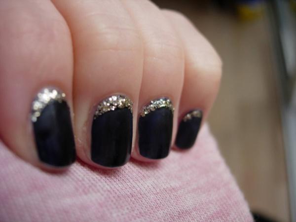 black nail arts (40)