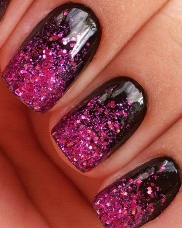 black nail arts (43)