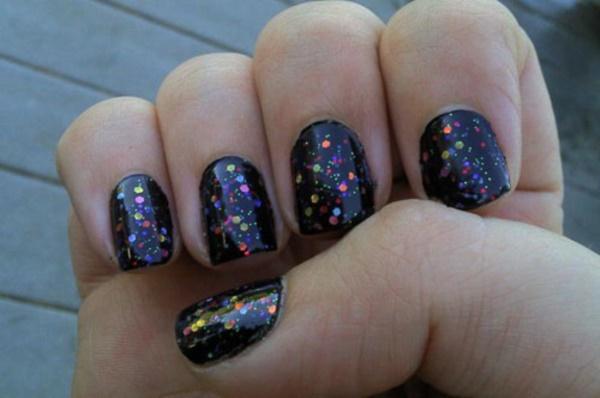 black nail arts (45)