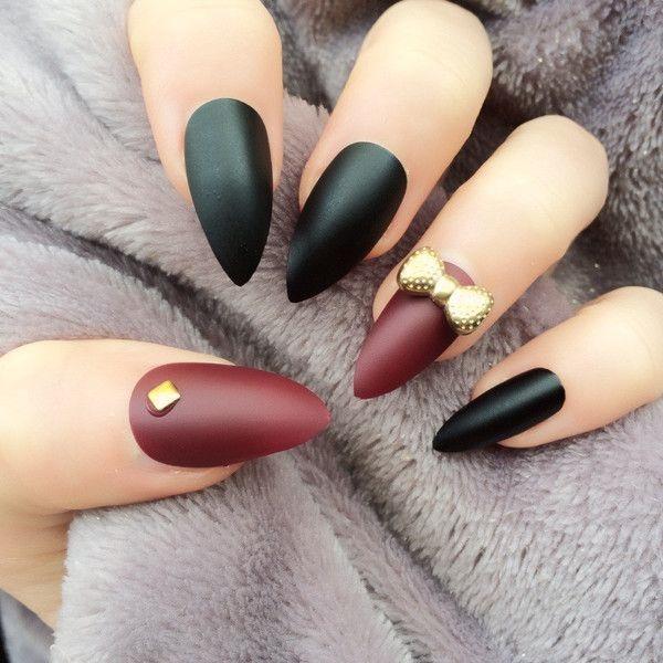 black nail arts (47)
