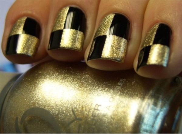 black nail arts (51)