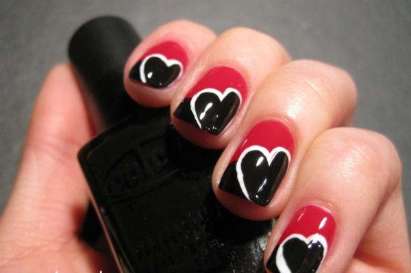 black nail arts (56)