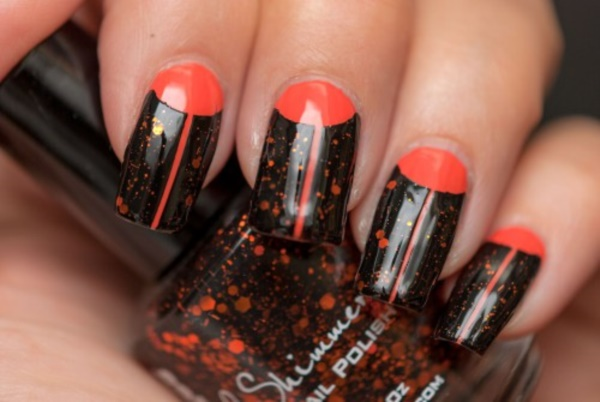 black nail arts (61)