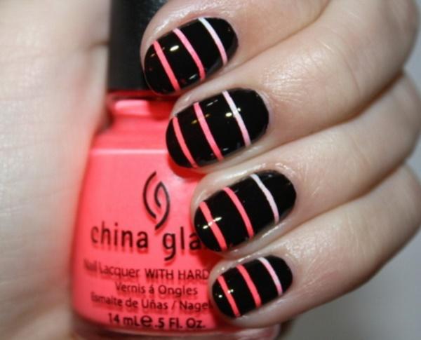 black nail arts (69)