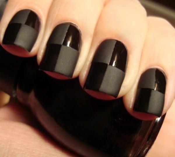 black nail arts (70)
