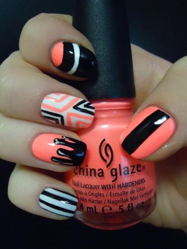 black nail arts (73)