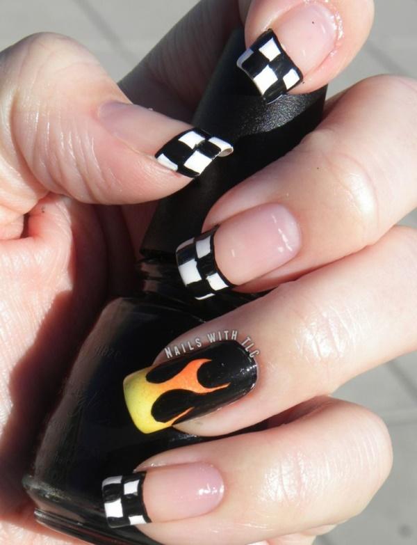 black nail arts (75)